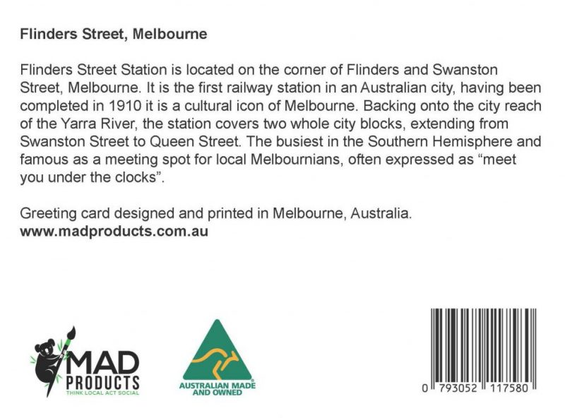GreetingCards_Melbourne_FlindersStreet_MADproducts_A6 SizeBack