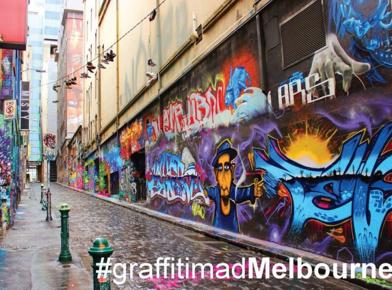GreetingCards_Melbourne_HosierLane_MADproducts_A6 SizeFront