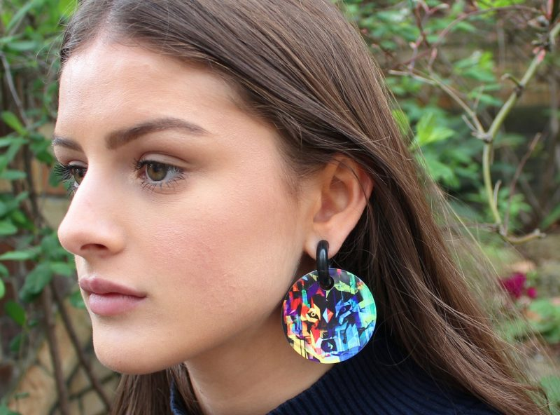 Streetart_Wolf_Earring52mm_4979