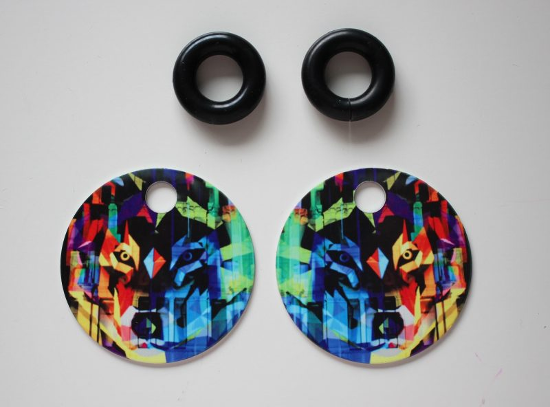 Streetart_Wolf_Earring52mm_5038