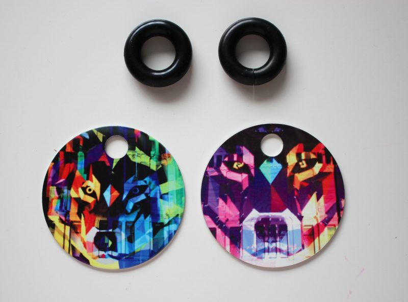 Streetart_Wolf_Earring52mm_5041