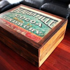 Cadbury iconic Melbourne coffee table
