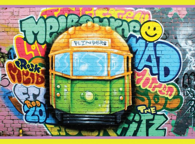 Postcard_GraffitiTram_MADproducts_Front