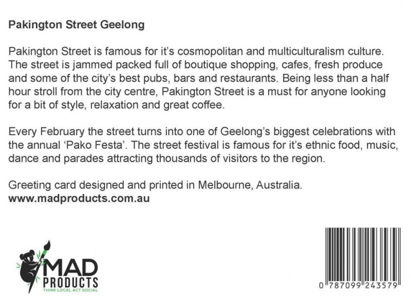 GreetingCards_Geelong_PakingtonStreet_MADproducts_A6 SizeBack