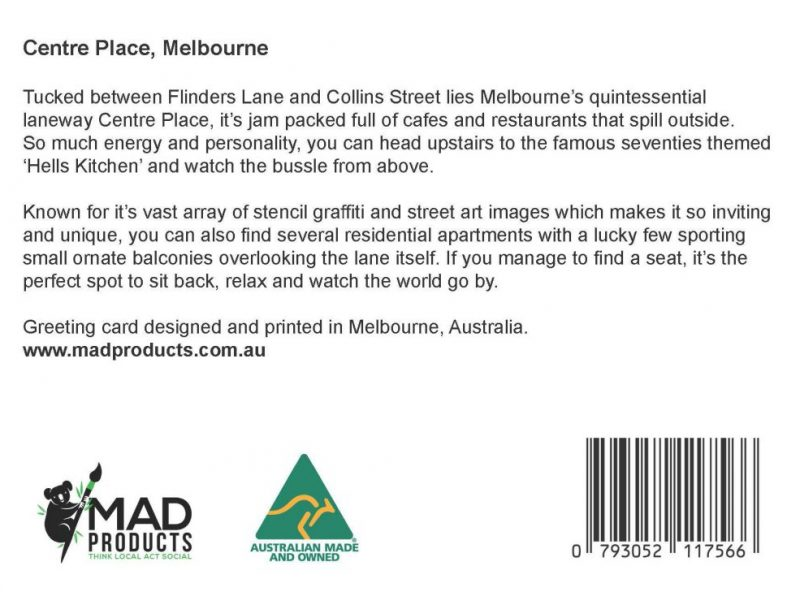GreetingCards_Melbourne_Centreplace_MADproducts_A6 SizeBack