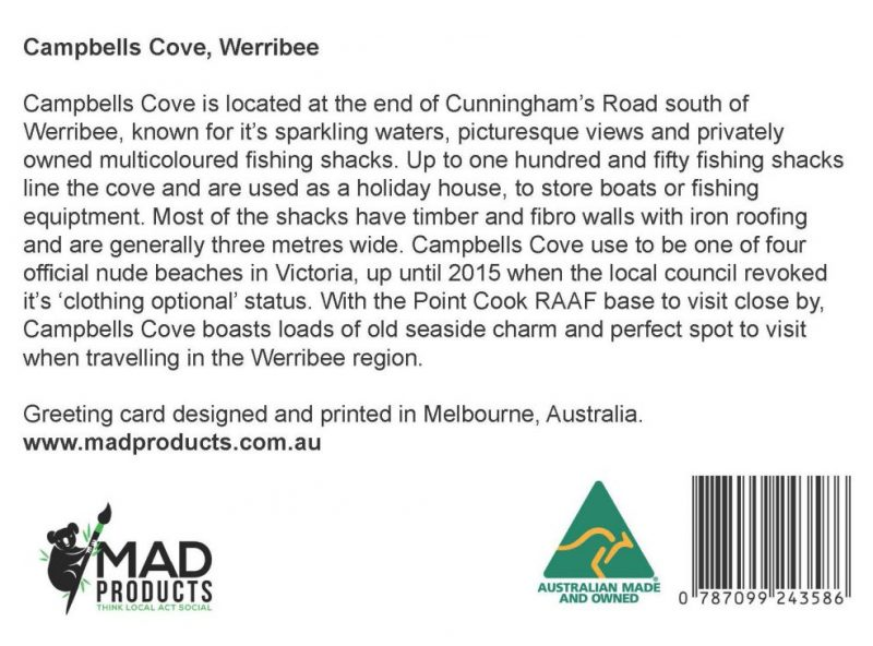 GreetingCards_Werribee_CampbellsCove_MADproducts_A6 SizeBack